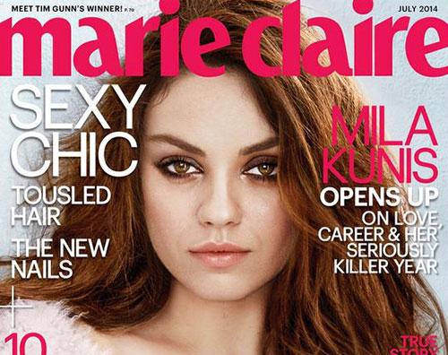 kunis marie Mila Kunis parla del parto su Marie Clarie
