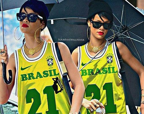 rihanna brasil Rihanna fa apprezzamenti su Kevin Prince Boateng