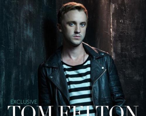 tomfelton Tom Felton protagonista su Glamaholic
