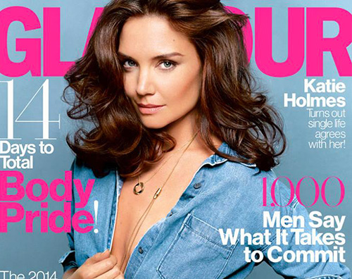 KatieCover Katie Holmes in topless su Gomour