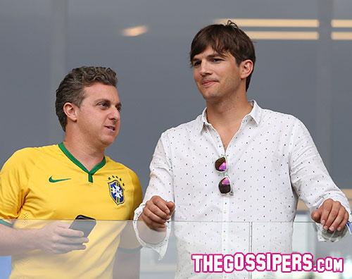 kutcher1 Ashton Kutcher porta sfortuna al Brasile