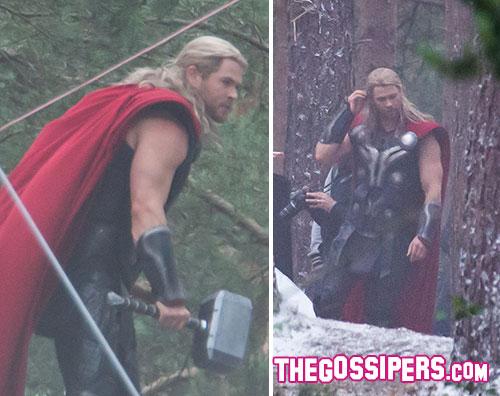 thor 2 Chris Hemsworth ancora sul set di Avengers: Age of Ultron