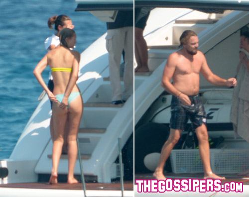 toni.leo  Toni Garrn raggiunge Leonardo Di Caprio a Saint Tropez