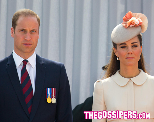 Cover Kate Middleton a Liegi con William