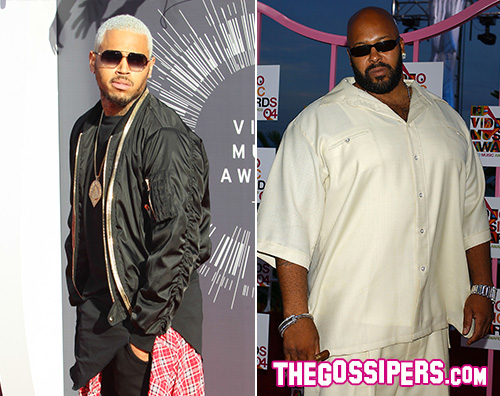 brownSuge Sparatoria al party di Chris Brown