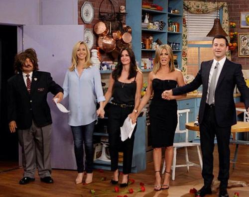 friends2 Reunion in tv per le donne di Friends