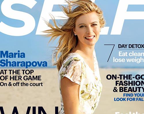 mariaSharapova Maria Sharapova su Self Magazine