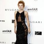 BellaThorne 150x150 amfAR 2014: Le celebrity sul red carpet