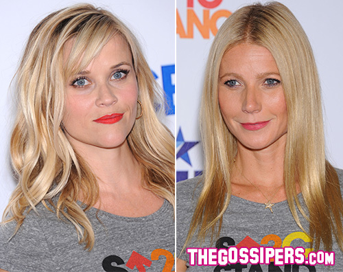 Cover4 Gwyneth e Reese per Stand Up 2 Cancer