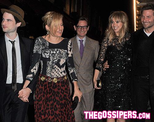 Cover6 Bradley Cooper e Suki Waterhouse complici a Londra