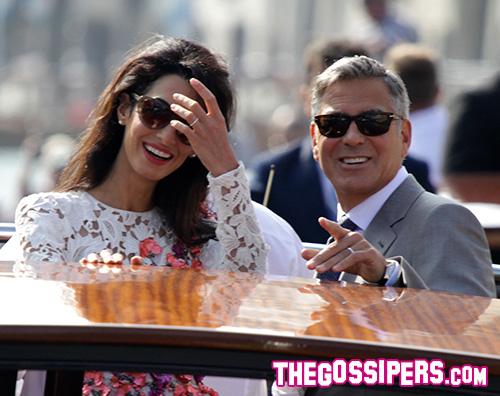 George Clooney George Clooney e Amal Alamuddin si sono sposati
