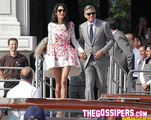 George George Clooney e Amal Alamuddin si sono sposati
