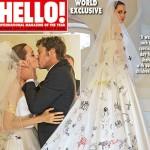 angelina matrimonio1 150x150 Il guadagno di Brad e Angelina per le foto del matrimonio