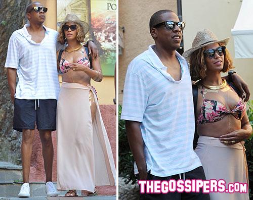 beyo2 Beyoncé e Jay Z innamorati (?) a Portofino
