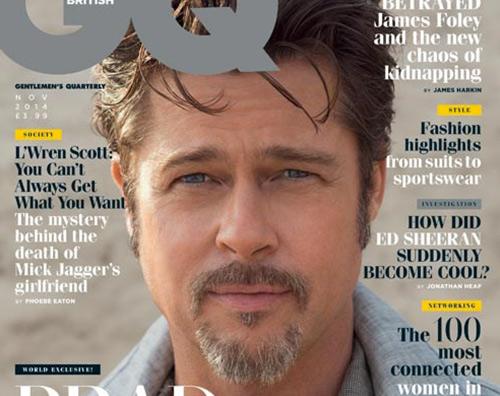 brad pitt Brad Pitt protagonista di GQ