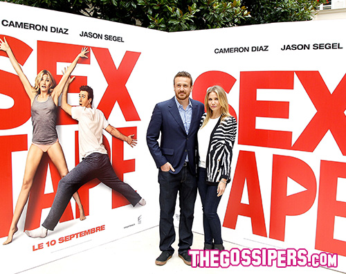 cam jason sex Cameron Diaz e Jason Segel a Parigi per Sex Tape