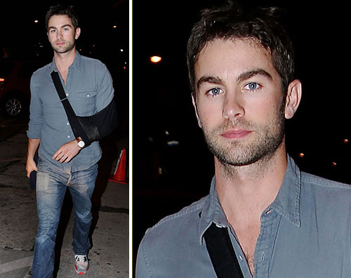 chace Chace Crawford fasciato a Hollywood