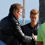 justin3 150x150 David Hasselhoff: Justin Bieber è un tipo tosto