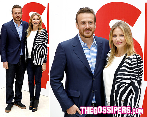 sextape2 Cameron Diaz e Jason Segel a Parigi per Sex Tape