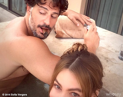 vergara joe Sofia Vergara, vacanze hot con Joe Manganiello