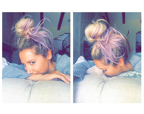 Ashley Ashley Tisdale cambia look