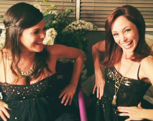 Cover rachel Rachel Bilson e Autumn Reeser si ritrovano sul set di Hart Of Dixie