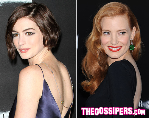 Jessica e Hanne Il cast di Interstellar a Los Angeles per la premiere