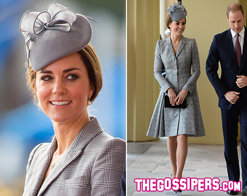KateCover Kate Middleton in pubblico dopo le nausee
