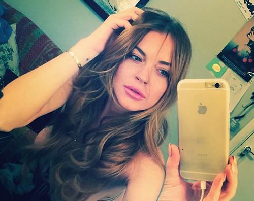 Lilo Lindsay Lohan in topless su Instagram