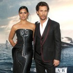 Matthew McConaughey Camila Alves 150x150 Il cast di Interstellar a Los Angeles per la premiere