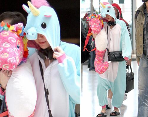 MileyCyrus Miley Cyrus è un unicorno a Sidney