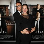 RObert e Susan 150x150 Doppio pancione alla premiere di The Judge