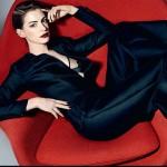 anne 150x150 Anne Hathaway parla della celebrità su Elle UK