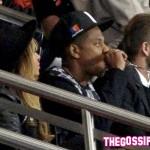 beyo Jay David 150x150 Beyoncè, Jay Z e David Beckham allo stadio di Parigi