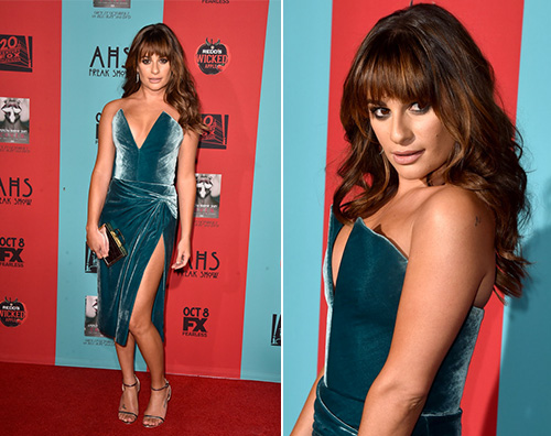 lea michele Lea Michele sexy per American Horror Story: Freak Show