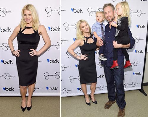 Jessica Simpson1 Jessica Simpson a Dallas con la famiglia