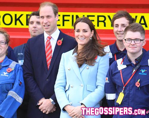 Kate Middleton Principe William Kate Middleton nasconde il pancino a Hundleton