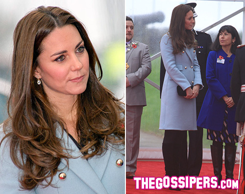 Kate Middleton Kate Middleton nasconde il pancino a Hundleton