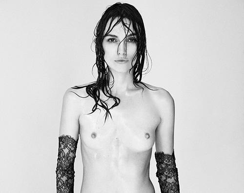 Keira Keira Knightley: Ok il topless, ma senza Photoshop
