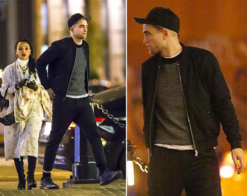 Robert Robert Pattinson a New York con FKA twigs