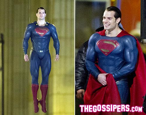 Superman Henry Cavill ritorna a vestire i panni di Superman
