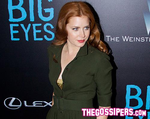 Amy Adams 2 Amy Adams in verde per Big Eyes