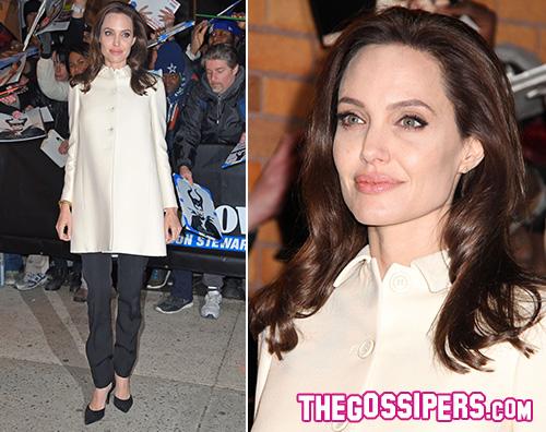 Angelina Jolie Pitt Angelina Jolie continua a promuovere Unbroken