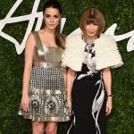 Bea e Anna Wintour 150x150 British Fashion Awards 2014: Rihanna la più audace sul red carpet