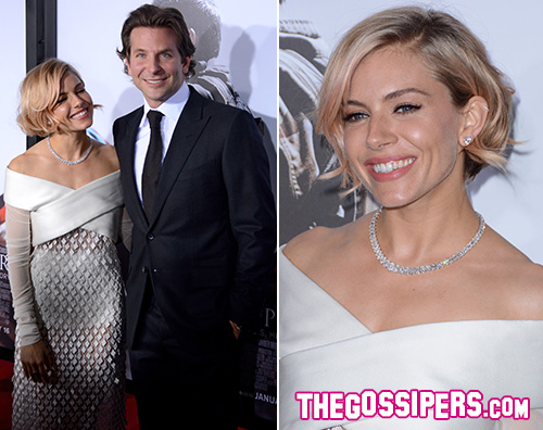 Cover6 Sienna Miller e Bradley Cooper presentano American Sniper