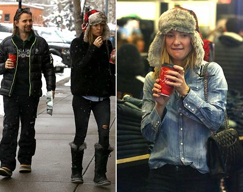 KateHudson Kate Hudson e Matt Bellamy, vacanza tra ex ad Aspen