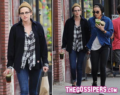 Kristen Stewart Kristen Stewart ha trascorso il Natale con Alicia Cargile