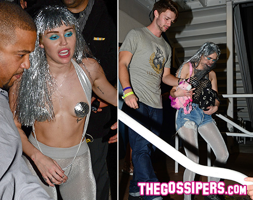 Miley e Patrick1 Miley Cyrus hot a Miami