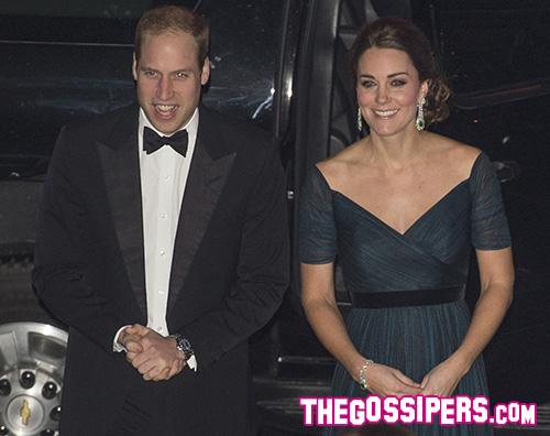 William e Kate Kate Middleton mostra il pancino a New York