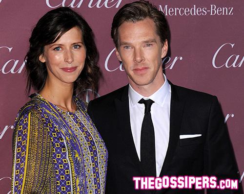 Benedict e Sophie Benedict Cumberbatch è diventato papà